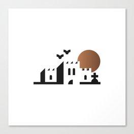 bwahaha! Canvas Print