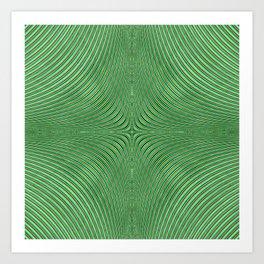 Spontaneous Symmetry Breaking Art Print