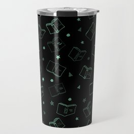 Classic Books Invert Green Travel Mug