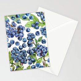 Blueberry Stationery Cards