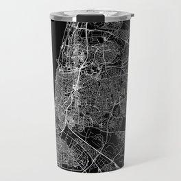 Tel Aviv-Yafo Black Map Travel Mug