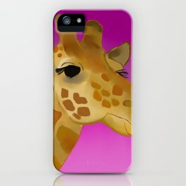 Color Pop Giraffe iPhone Case