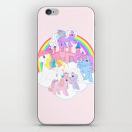 g1 my little pony iPhone Skin