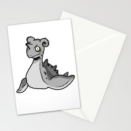 Lapras the scary Stationery Cards