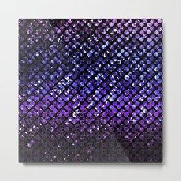 Crystal Bling Strass Purple G323 Metal Print
