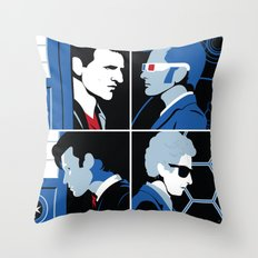 The 4 Doctors (2005-2018) Throw Pillow