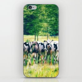 In the Pasture iPhone Skin