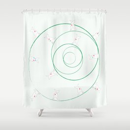 Funny Bunnies! Shower Curtain