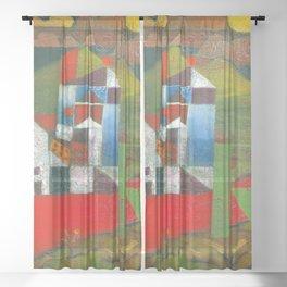 Paul Klee Villa R Sheer Curtain