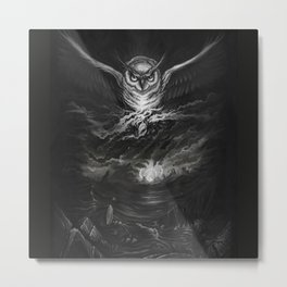 BounD Owl/Moloch  Metal Print