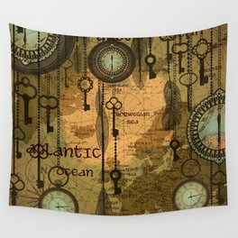 Time Passage Wall Tapestry