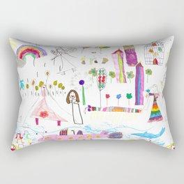 planeta jana Rectangular Pillow