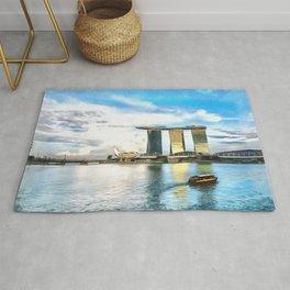 Hotel Marina Bay Sands and ArtScience Museum, Singapore Rug