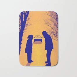Fox Mulder and Dana Scully We lost 9 minutes Bath Mat