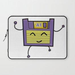 A1 Cute Dancing Floppy Disk Laptop Sleeve