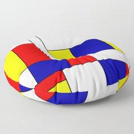 Mondrian #37 Floor Pillow