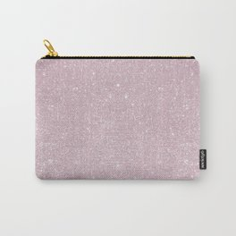 Pastel Lavender Glitter Carry-All Pouch