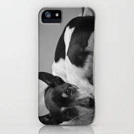 Mans Best Friend iPhone Case