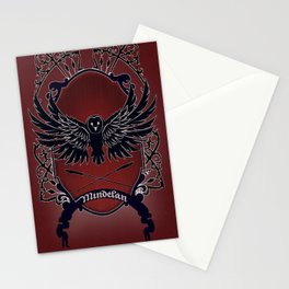 Mindelan Crest Stationery Cards