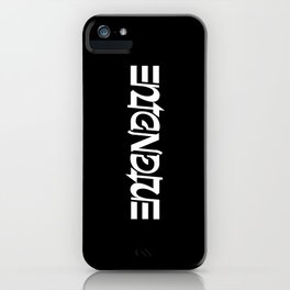 Entendre iPhone Case