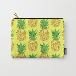 Pineapple Pop Yellow Carry-All Pouch