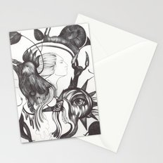 Retrato de Sirena Stationery Cards