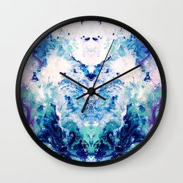 Okul - Abstract Costellation Painting Wall Clock