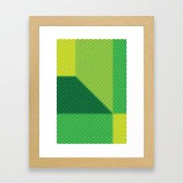 N Dot Framed Art Print