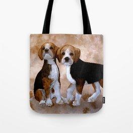 Young Beagle Tote Bag