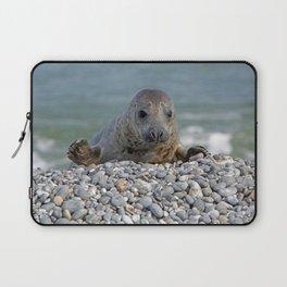 Gray seal - Kegelrobbe Laptop Sleeve