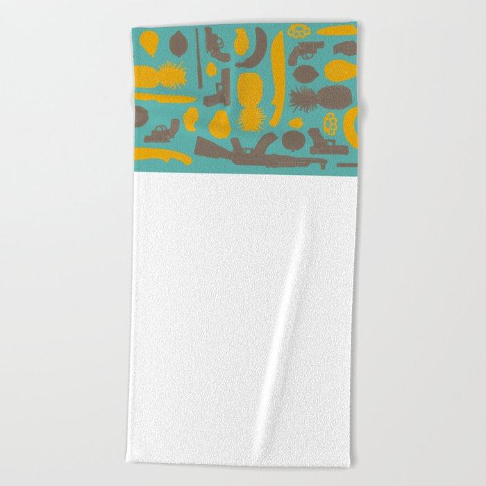 Maracaibo Beach Towel