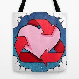 Love Is... Loops Tote Bag