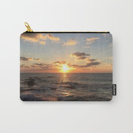 Mediterranean Sunset (Joppa) Carry-All Pouch