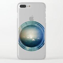 Communicate in Blue / Archipelago 27-01-17 Clear iPhone Case