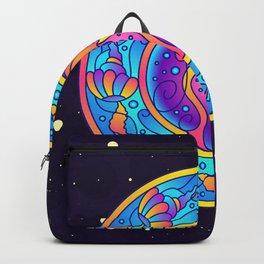 Jellyfish Mandala Backpack