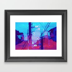 Mountains in the Sky Framed Art Print