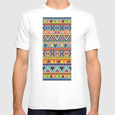 PLAY White Mens Fitted Tee MEDIUM