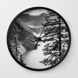 Forest Lake Retreat - Crater Lake Wall Clock