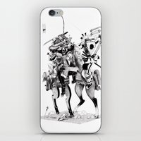 samurai iPhone & iPod Skins featuring Samurai! by HELLLOJOJO