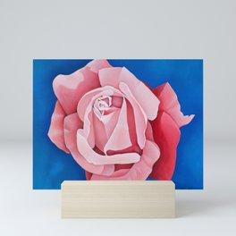 Perfume Delight - Pink Tea Rose Art Mini Art Print