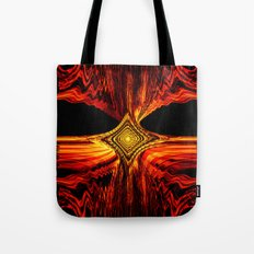 Abstract.Red Flame. Tote Bag