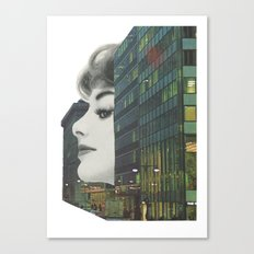 Private eyes Canvas Print