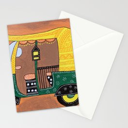 Auto Rickshaw Stationery Cards