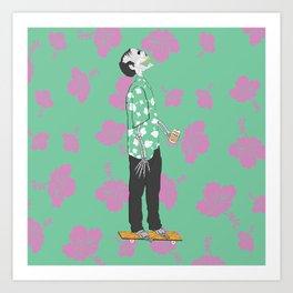 Live To Scum Art Print