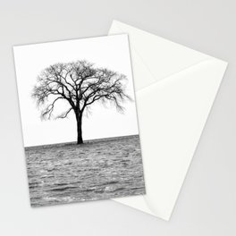 Flooded on White Stationery Cards