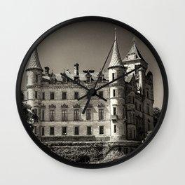 Dunrobin Castle Scotland Wall Clock