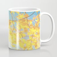 golden Mugs featuring golden by Life Through the Lens