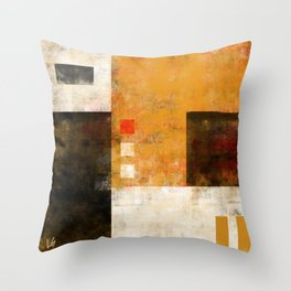 Color grid 3 Throw Pillow