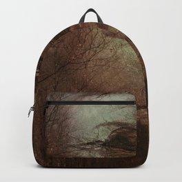 Autumn portrait Backpack