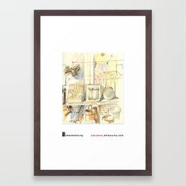 "Cathy Johnson, ""Architectural Salvage"" Framed Art Print"